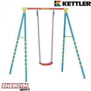 מערכת לחצר של KETTLER מעוצבת הכוללת נדנדה בודדת