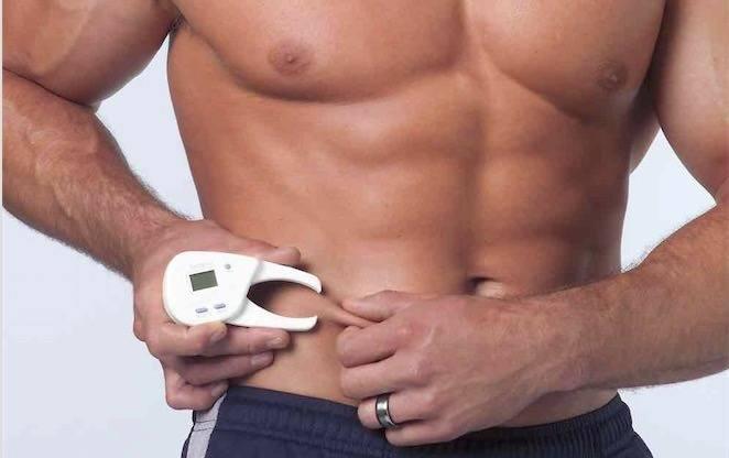מדידת אחוז שומן בגוף