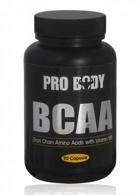 חומצות אמינו מסועפות 90 כמוסות PROBODY BCAA
