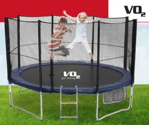 טרמפולינה 8 פיט (2.44 מ') Jump Pro 8 (2020) Vo2