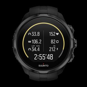 שעון מולטי-ספורט Suunto Spartan Ultra שחור