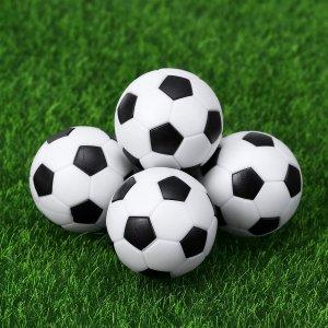 תוספת 2 כדורים איכותיים לשולחן משחק כדורגל