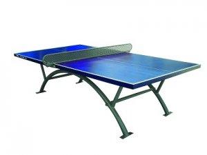 שולחן טניס לשימוש חוץ דגם Viking10 רשת קבועה מבית Vo2 עמידות גבוהה