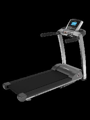 מסלול ריצה דגם F3 Folding מבית LIfe Fitness + מסך Go