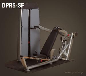 מכשיר אימון כח מקצועי לאימון חזה וכתפיים דגם DPRS-SF מבית Body Solid