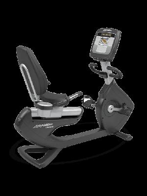 אופני כושר עם משענת מסדרת Platinum Club מבית LifeFitness +מסך Inspire