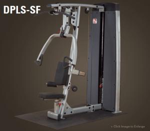 מכונת כוח לחיצת חזה/פולי עליון מקצועי דגם DPLS מבית Body Solid
